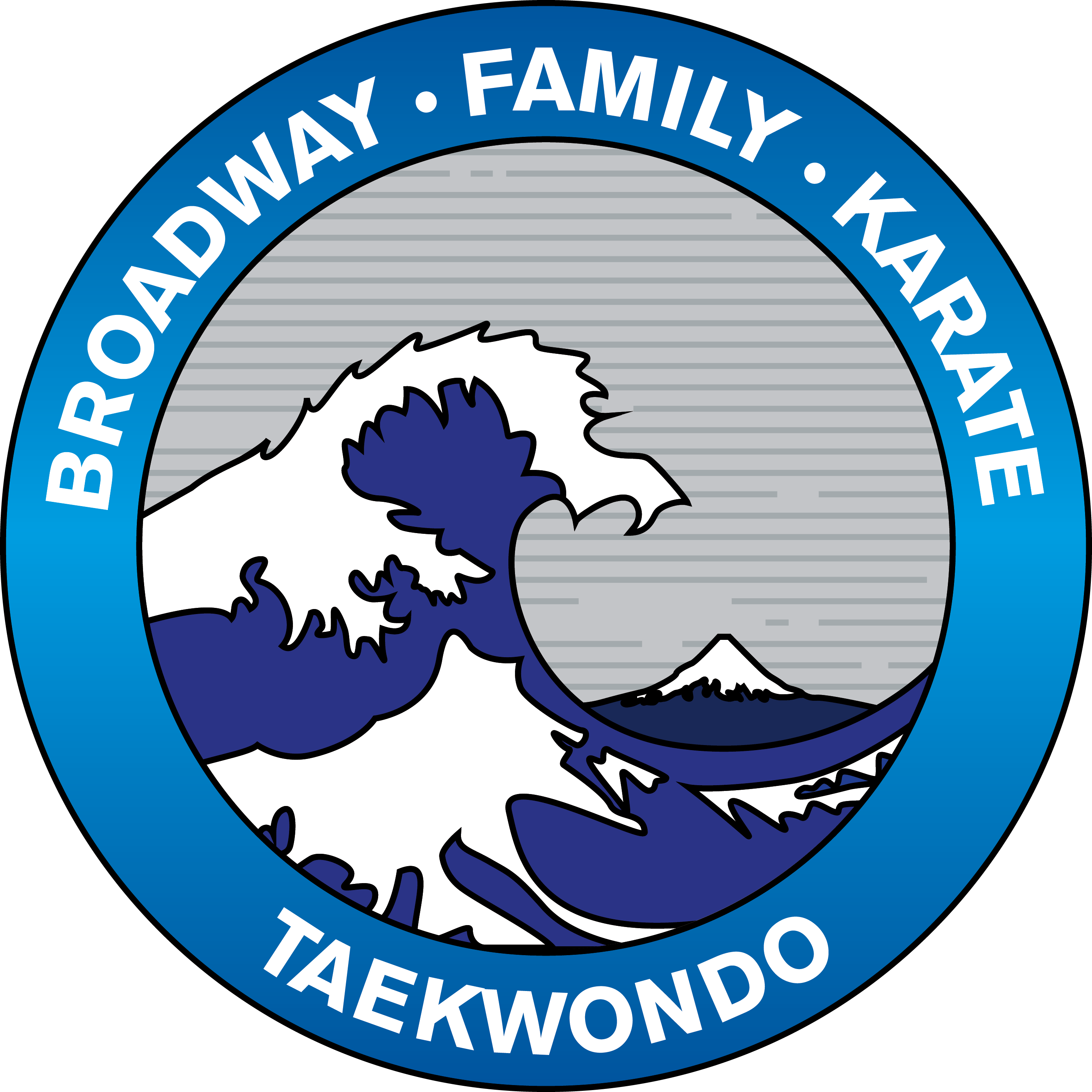 Broadway Family Karate Logo