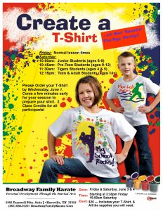 T-Shirt Party Flyer 2016