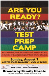 Prep Camp Poster July 2016