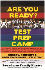 Prep Camp Poster February 2017